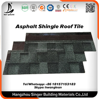 Architectural Laminated Round Fiish Scale Asphalt roofing shingle factory price