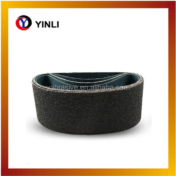 black silicon carbide /silicon carbide sanding belts