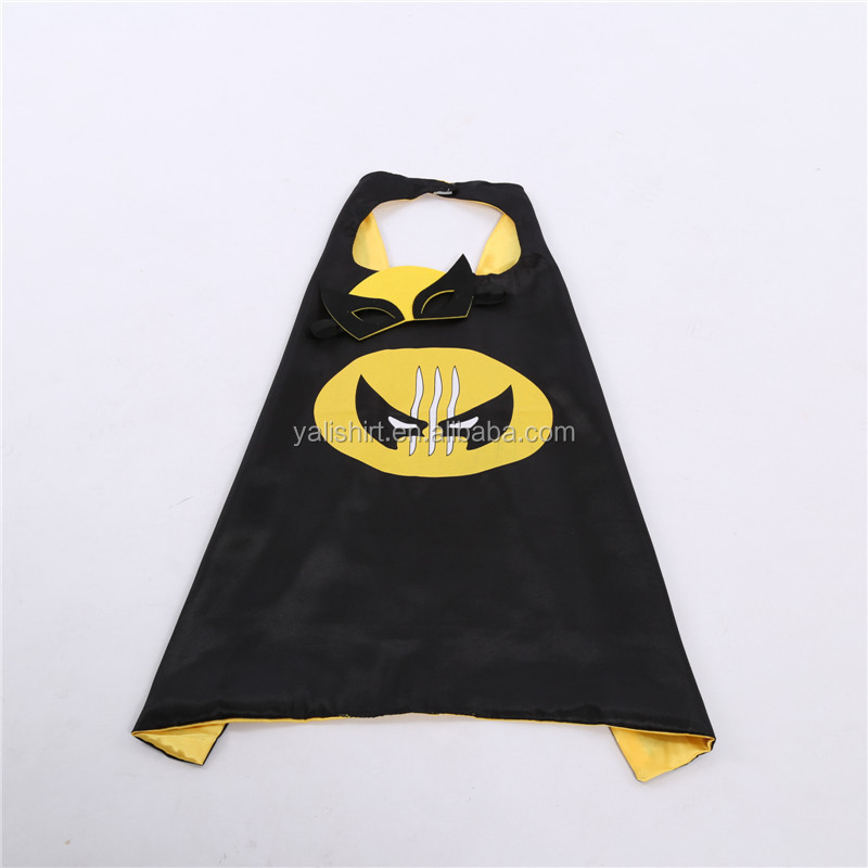 Wholesale bulk Halloween and Christmas hot transfer print children's capes