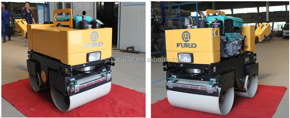 Hydraulic Steering Road Roller/Vibratory Hand Roller Compactor (FYL-800CS)