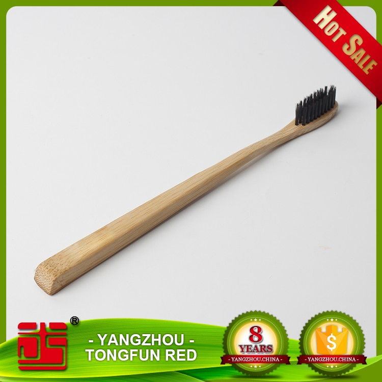 Bamboo Tooth Brush For Adult And Kids Charcoal Bamboo Toothbrush