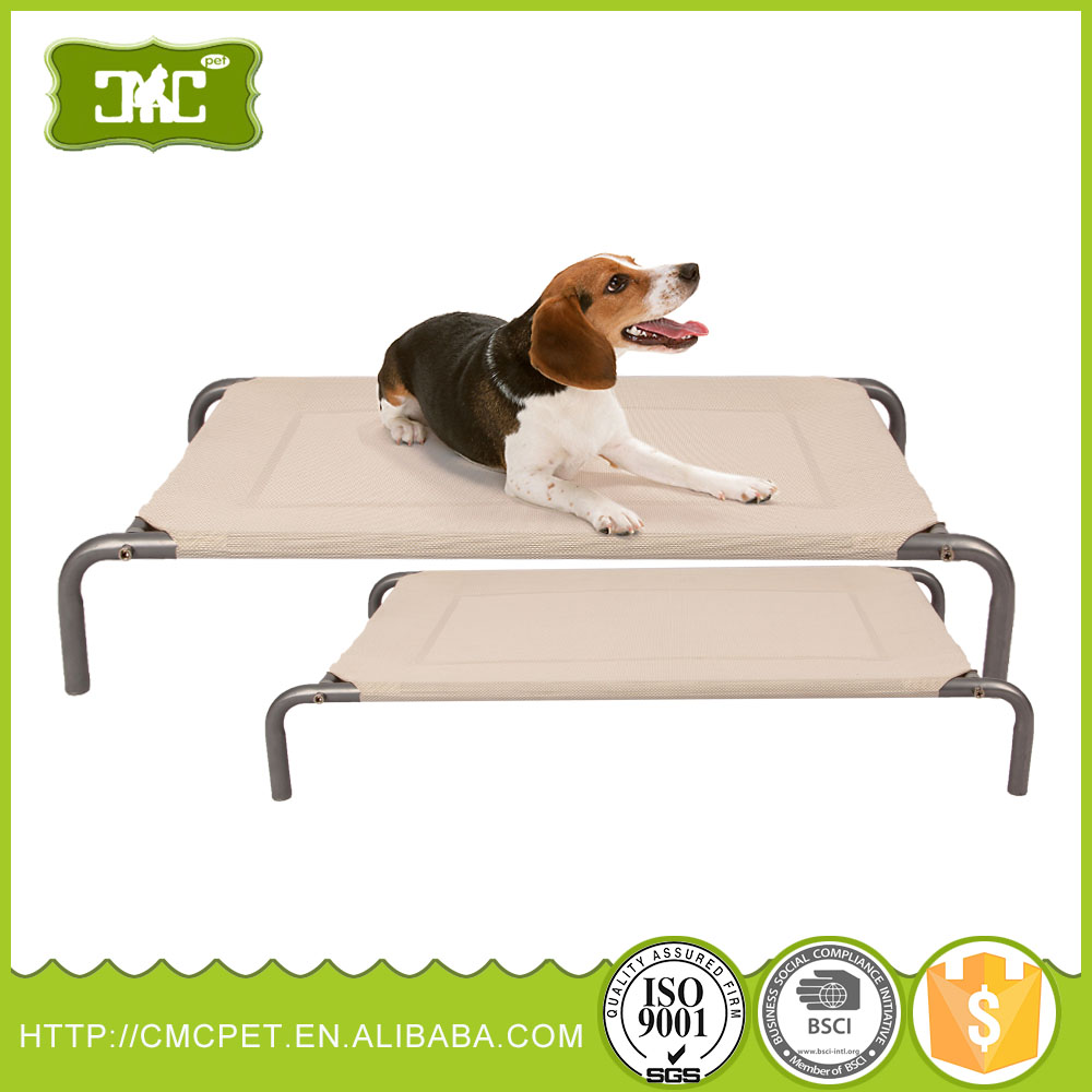 For Amazon and eBay stores Outdoor light foldable raised dog bed/pet Trampoline