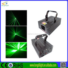 guangzhou brand nightclub dj lights single green laser for sale/single beam laser light