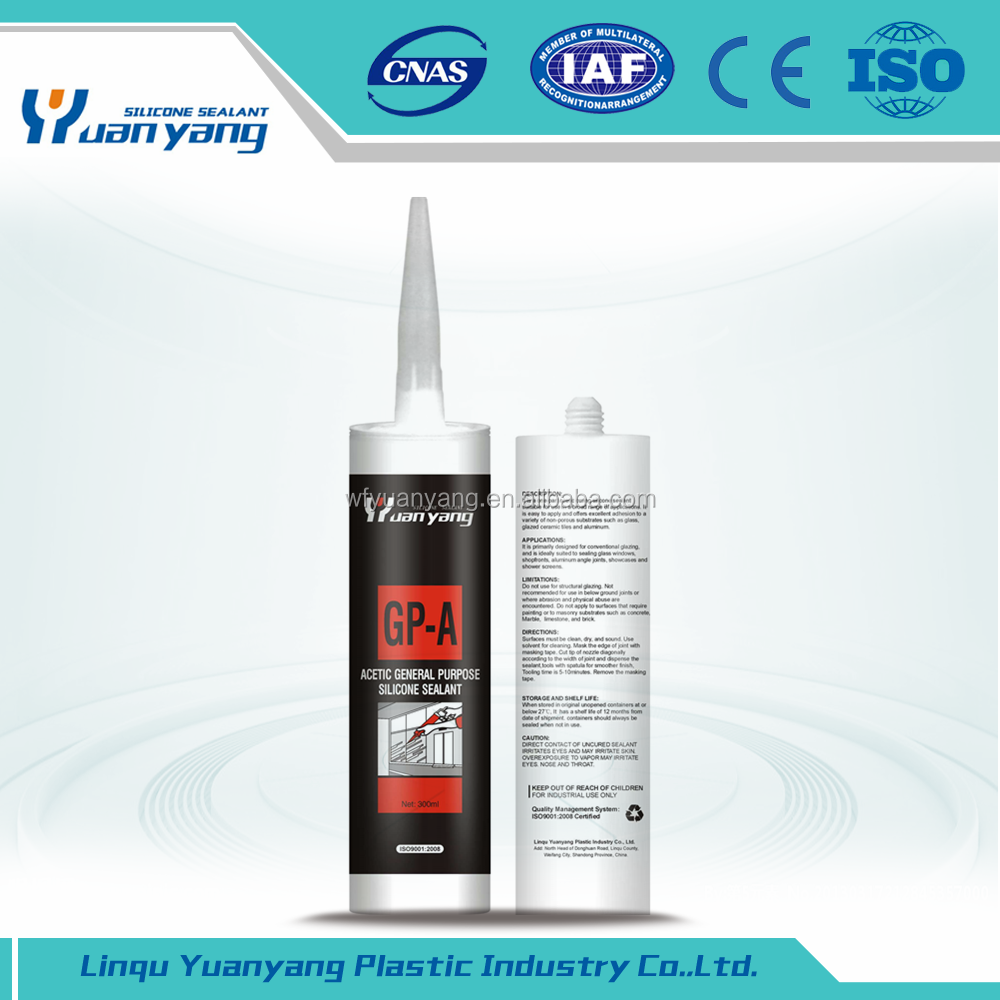 Top Quality Glass General Purpose Acetoxy Silicone Sealant