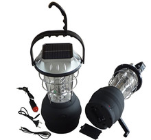 Hot selling china powerful rechargeable 36 led emergency solar lantern