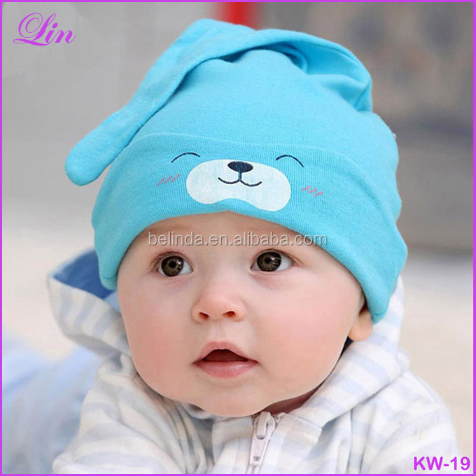 Free shipping by DHL/FEDEX/SF cartoon characters baby beanie <strong>hat</strong>