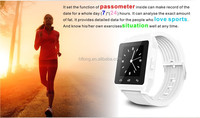 Christmas Promotion Bluetooth 3.0 Smart Wrist Watch Phone Bracelet For IOS Android iphone Samsung HTC