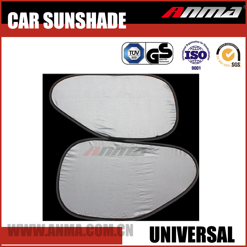 polyester(170T/190T) Material foldable car sunshade curtain AM072-0908