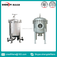 Multi basket filter equipment bag filter vessel with ASME certificate