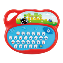 Educational english toy kids laptop learning machine with music