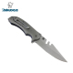 440c All Steel Handle Belt Clip Utility Knife Folding Pocket Knives
