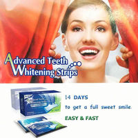 2014 newest design crest white strips,teeth whitening strips with crest quality
