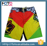 Quick dry short trunks for men sublimated men water shorts swimming trunks