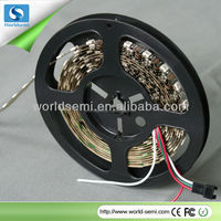 Flexible glass 1m DC5V WS2812B LED rigid