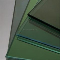 Building Wall Dark green Reflective Glass tinted glass