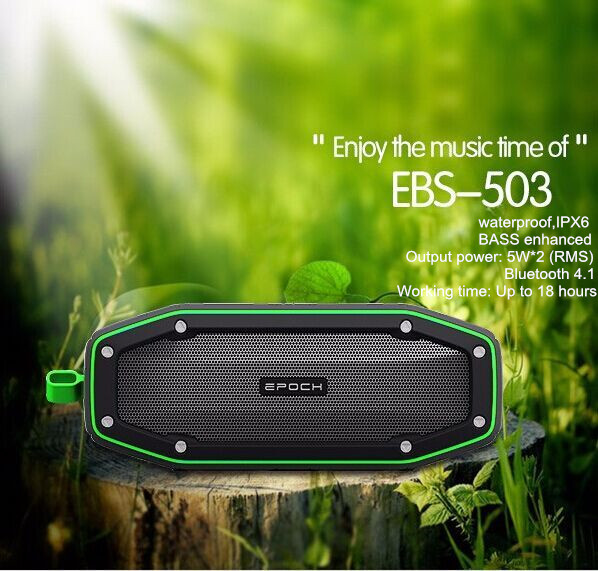 Passive Loudspeakers Portable Waterproof Outdoor MP3 Speakers, microphone portable speaker for smart phones, computers