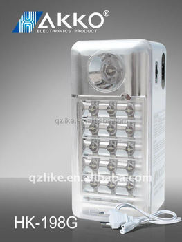 beautiful design rechargeable Emergency lighting led