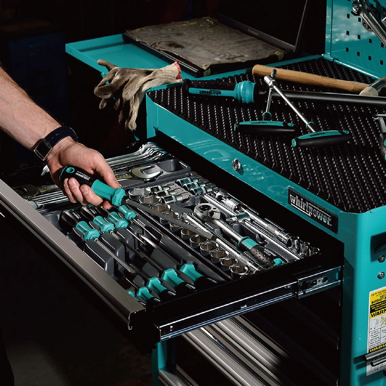 Tool Cabinet Set, 162pc