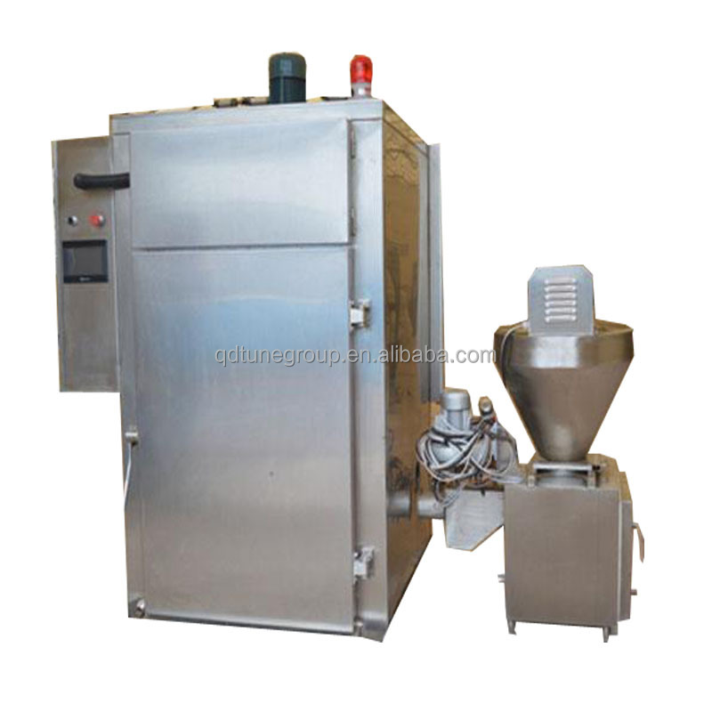 Industrial Steam Heating 250kg Sausage Smoke House