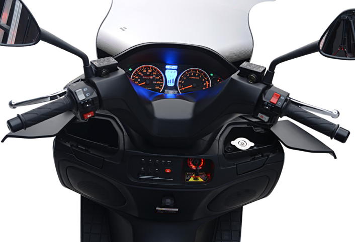 Adonis 125cc powerful gas scooter EEC EFI EURO4