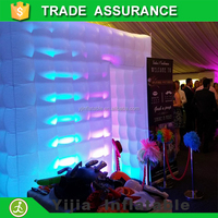 free shipping custom made infatable cube tent photo booth enclosure