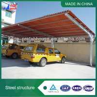Beautiful 2 cars metal carports