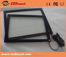 2/4/6/10 pionts touch metal frame/plastic rame 22'' touch screen panel kit