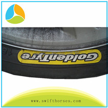 Customized Good Quality Super Strong adhesive Self Adhesive Sticker For the Tyre