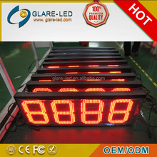 Gas station LED price pump sign/board/display