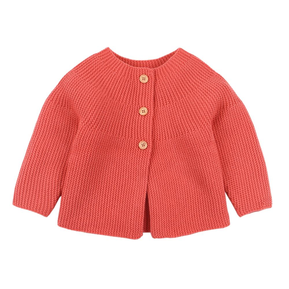 KR282 Winter warme windig-proof baby stricken strickjacke