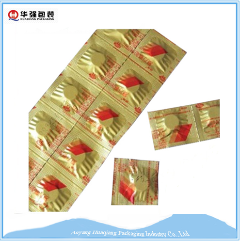 AL / PE composite strip packs aluminium foil