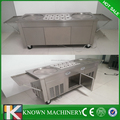 Temperature control fry ice cream machine price/fry ice cream machine