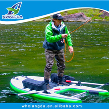 2015 China Factory High Quality Hand Made Inflatable Pontoon Boat For Fishing