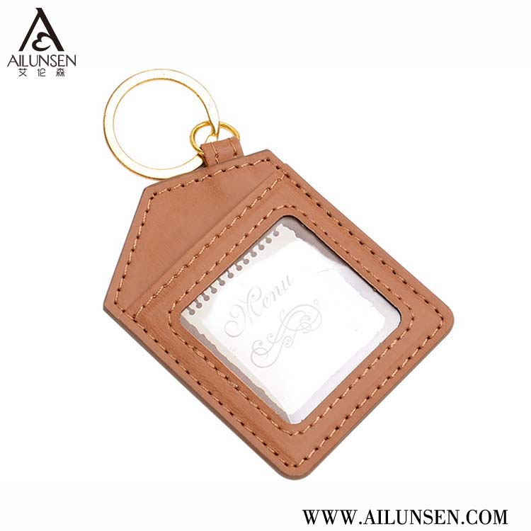 Best quality custom key ring credit card holder