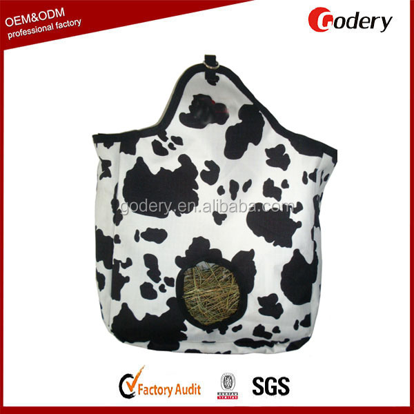 Horse hay bag with custom printing