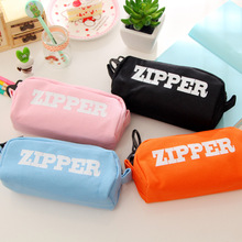 Hot Fashion convenient Cheaper Lovely School Student Pen Pencil Bag