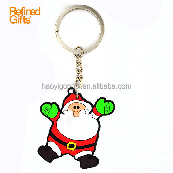 Personalized Customized Cheap Silicone Keychain for festival series