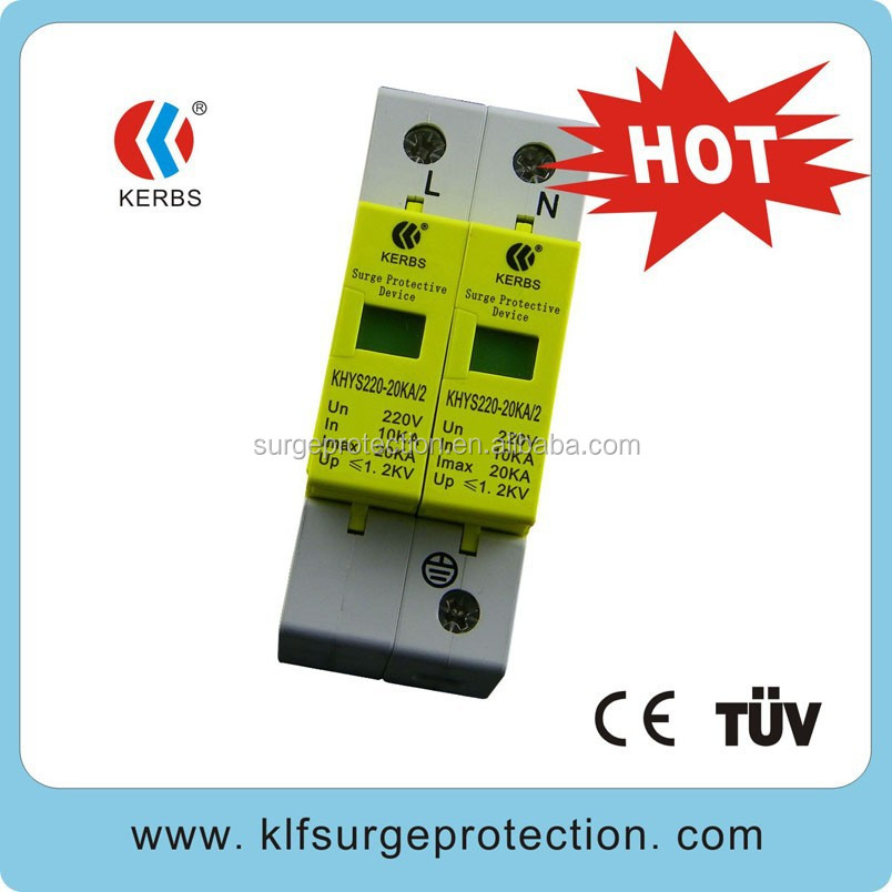 220V-20KA Single phase lightning power surge