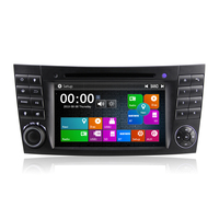 Winmark 7 Inch Double Din Car DVD Player With Touch Screen Dual Core GPS Bluetooth For Mercedes-Benz E-Class W211 (2002 - 2009)