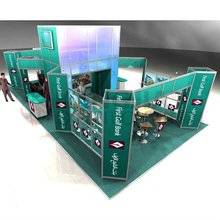 modern exhibition booth design