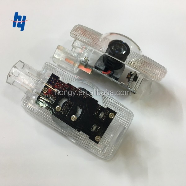 Wireless No drill play and plug car logo laser ghost shadow door light for Toyota for n issan for lexus for infiniti etc