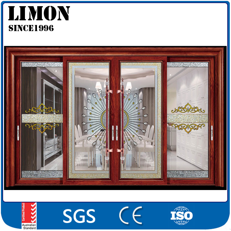 Cheap aluminium profile three panel sliding glass <strong>doors</strong> price for sale