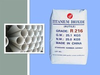 general use rutile titanium dioxide R216 for paints, plastics, rubber, etc