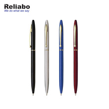 Reliabo Best Selling Products Promotional Hotel Metal Ball-Point Pens With Custom Logo