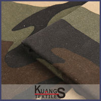 camouflage polyester canvas fabric