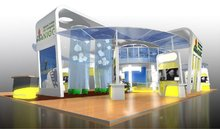 NIOC- National Iranian Oil Company exhibition stand / booth - concept design