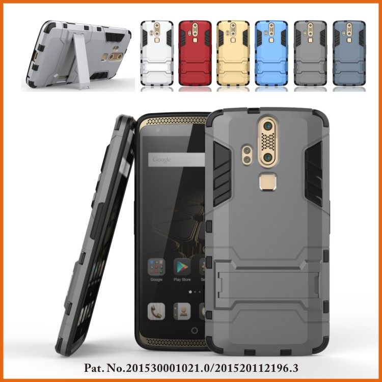 Armor Hybrid Cell Phone Case Shell Cover Protective For ZTE Axon