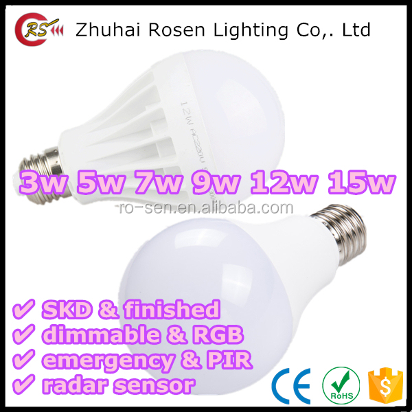 direct buy china isolated constant current driver PF 0.9 3w 5w 7w 9w 12w 15w 90 lm/w LED bulb light