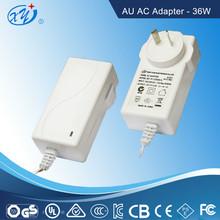 AC-DC Plug-in Adaptor 12V 3A switching adapter for massage chair