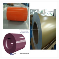 sandwich panel raw material prepainted ppgl steel sheets in coils